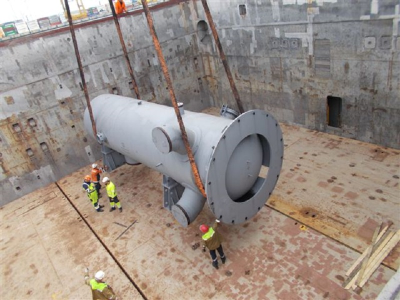 В апреле - мае 2019 года из порта Санкт-Петербург отгружены 10-ая и 11-ая судовые партии оборудования для строительства 2-ой очереди АЭС «Куданкулам», Индия.