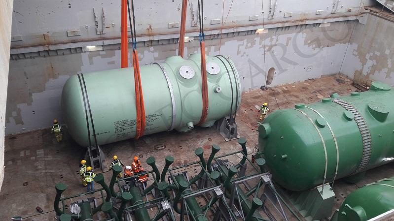 Завершена доставка второй партии оборудования для строительства АЭС «Белене» в Болгарии.