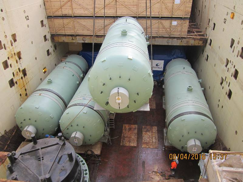 The 11th Lot for the Second Construction Stage of Nuclear Power Plant in China has been shipped from the Port of Saint Petersburg.