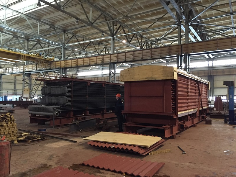INCOTEC CARGO Has Completed Transportation Project of 6 Heavyweight Heating Surface Blocks with Their Total Weight of 220 Tons to the Job Site of The Yarega Electricity Generating Center, Yarega, the Republic of Komi.